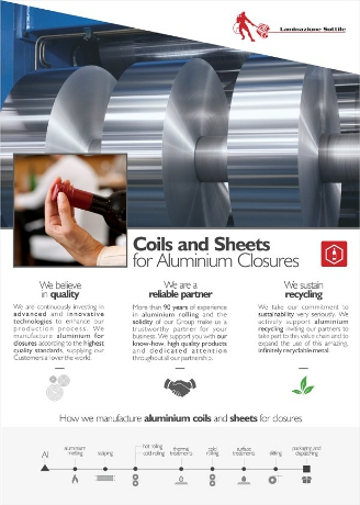Aluminum Rigid Closure for Beverage Catalogue