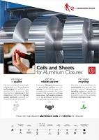 Aluminium Closures: Laminazione Sottile Brochure