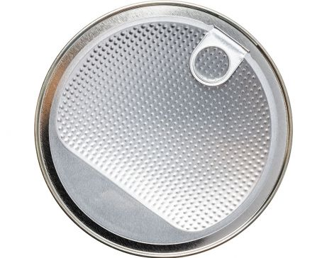 Aluminium lid for cans