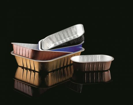 Lacquered Semirigid Trays